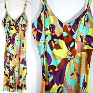 Express Silk Pucci Inspired Dress Sundress